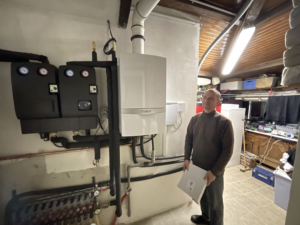 Pose d'une chaudière Vaillant ecoTEC plus systèmes gaz condensation en remplacement