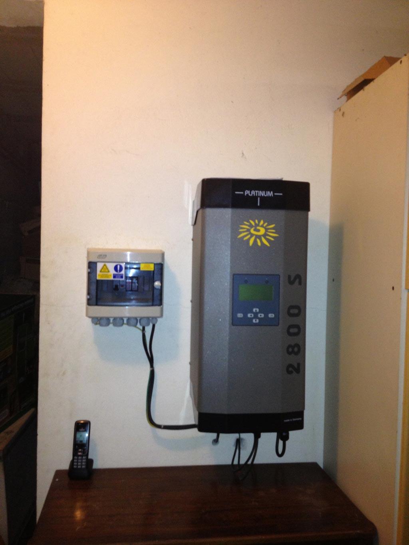 Remise en état totale d'une installation Photovoltaïque après orage et fuites sur toiture 06 Valbonne Alpes Maritimes-Alpes Maritimes (06)