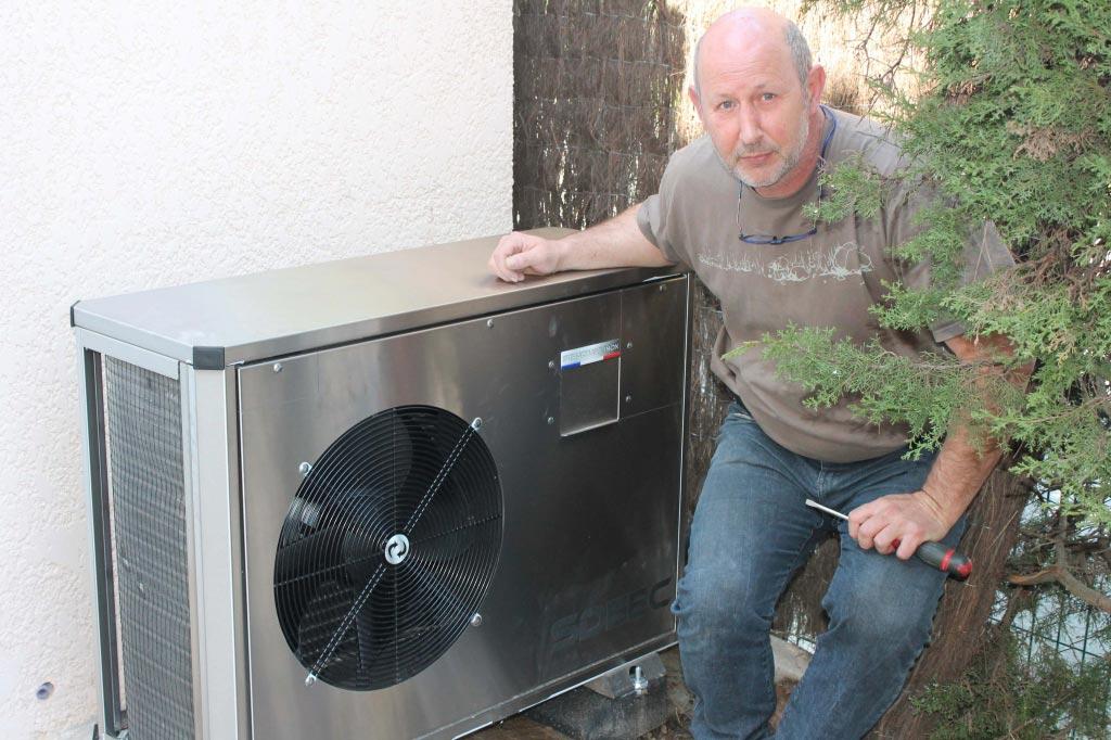 Pompe a chaleur monobloc sdeec au cannet rocheville 06 - Pompe a chaleur monobloc interieur ...