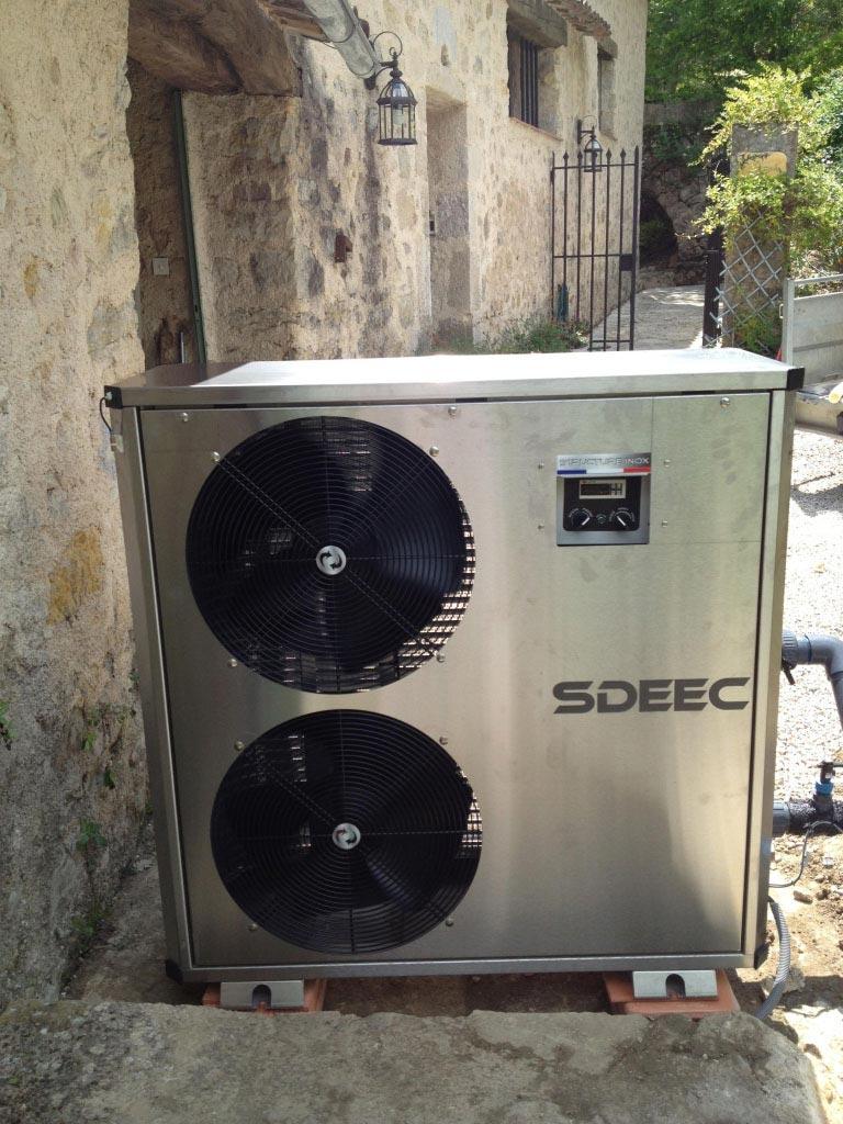 Pompe à Chaleur Air Eau SDEEC RMP21 T - 83 Var