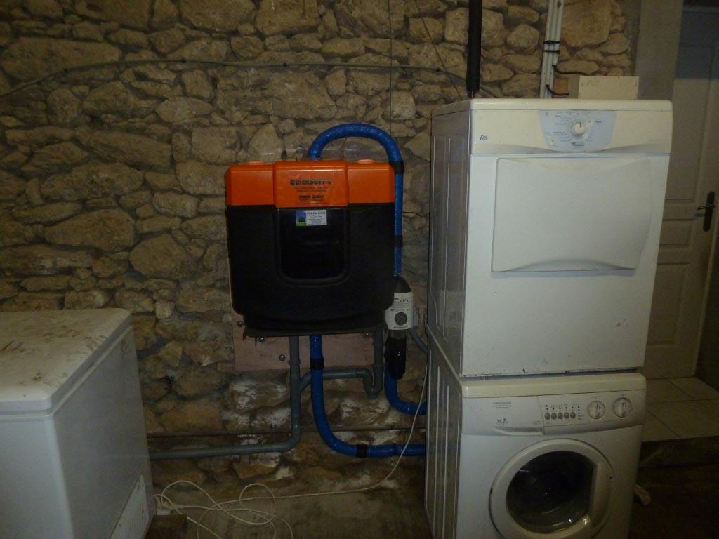 Adoucisseur d'eau sanitaire JUDO à Gornac 33