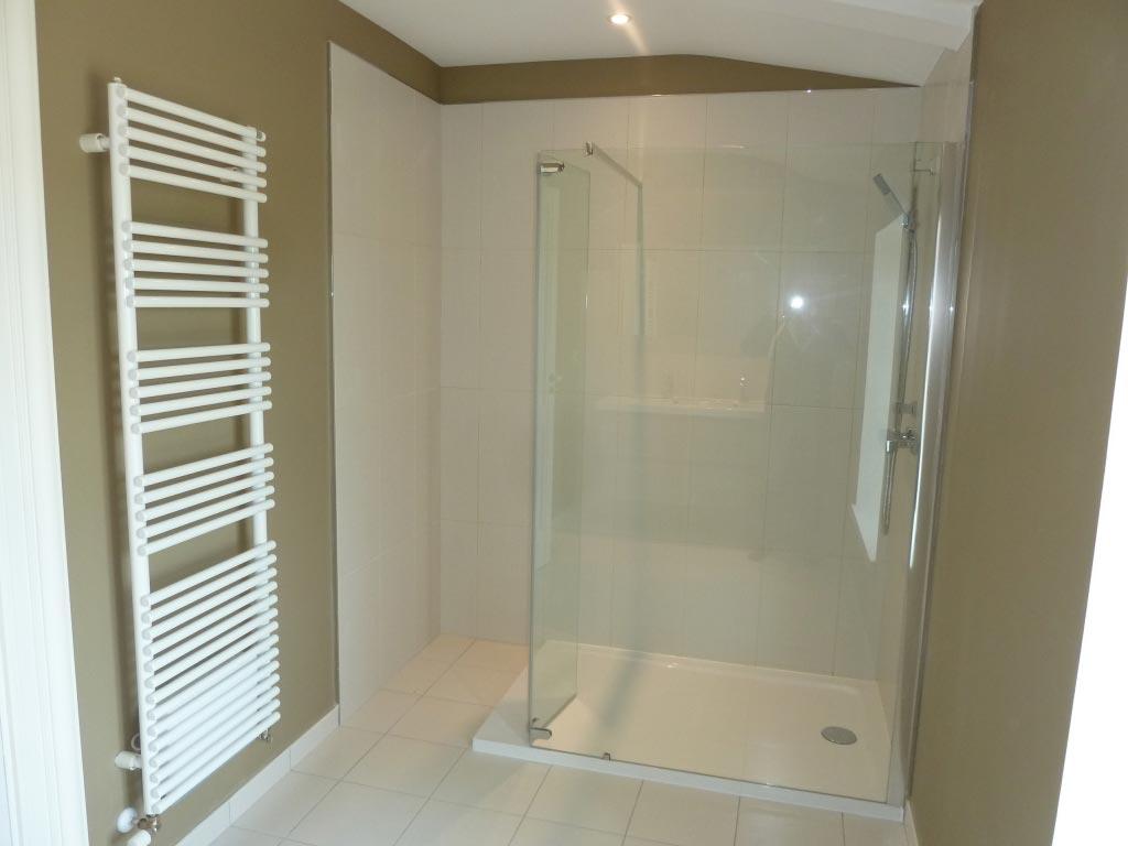 Salle de bain créée à Pellegrue 33 Gironde
