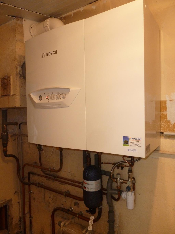 Condensation gaz BOSCH à Branne - 33 GIRONDE