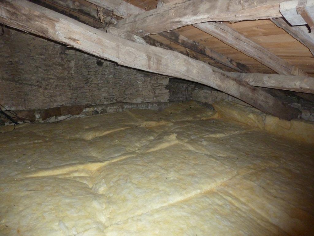 Isolation de combles pour faire des économies d'énergie à Blasimon 33 Gironde