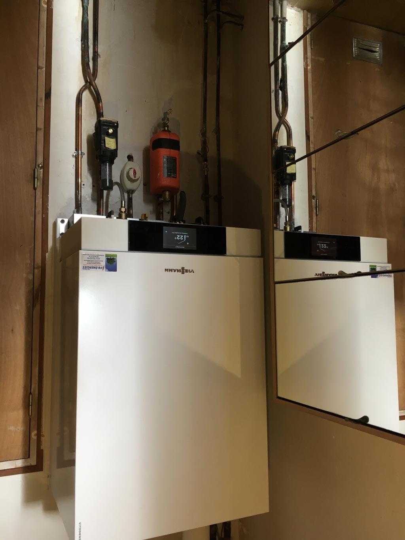 Chaudière à haute performance énergétique gaz VIESSMANN à Castelviel 33 GIRONDE