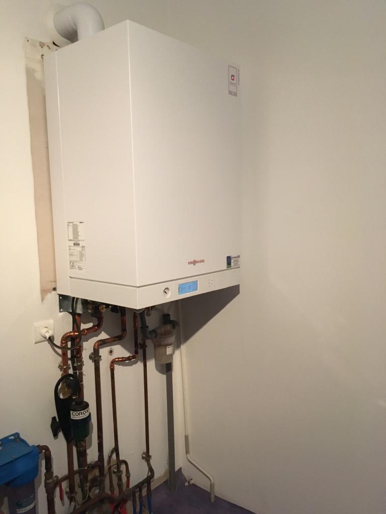 Remplacement et installation chaudière à condensation gaz Viessmann - Installateur PG