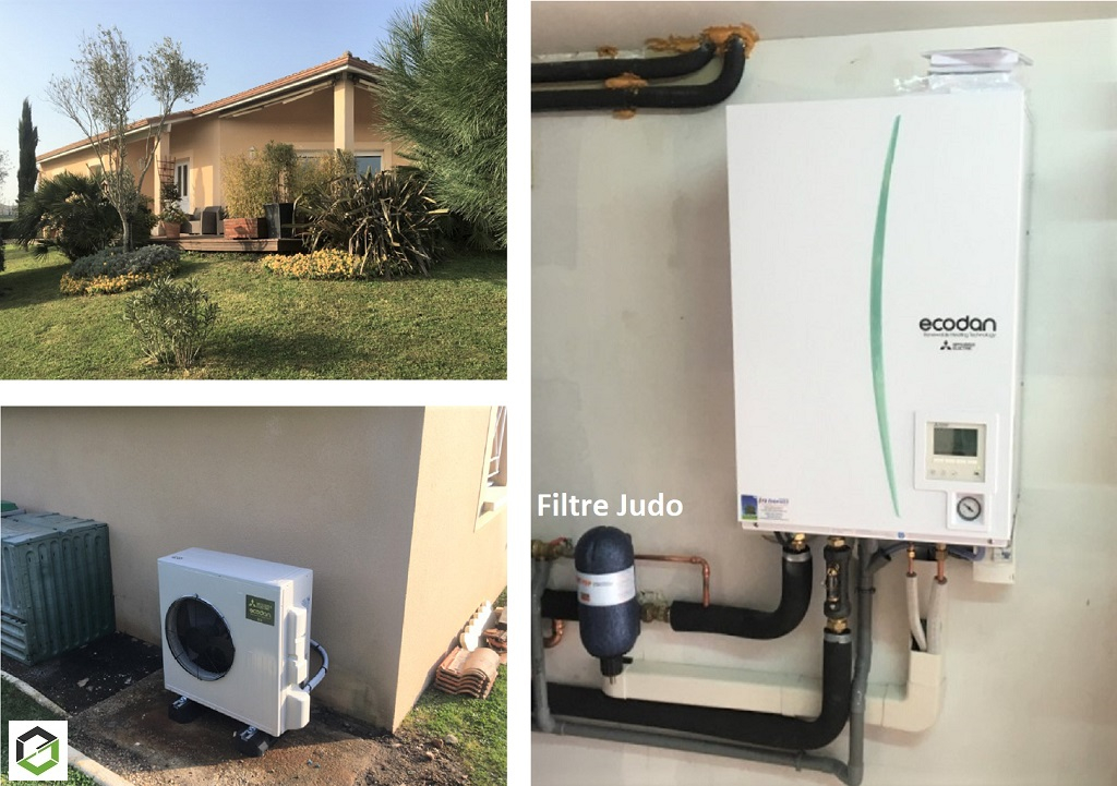 installation-d-une-pompe-a-chaleur-mitsubishi-electric-installateur-rge-qualipac-gironde-33