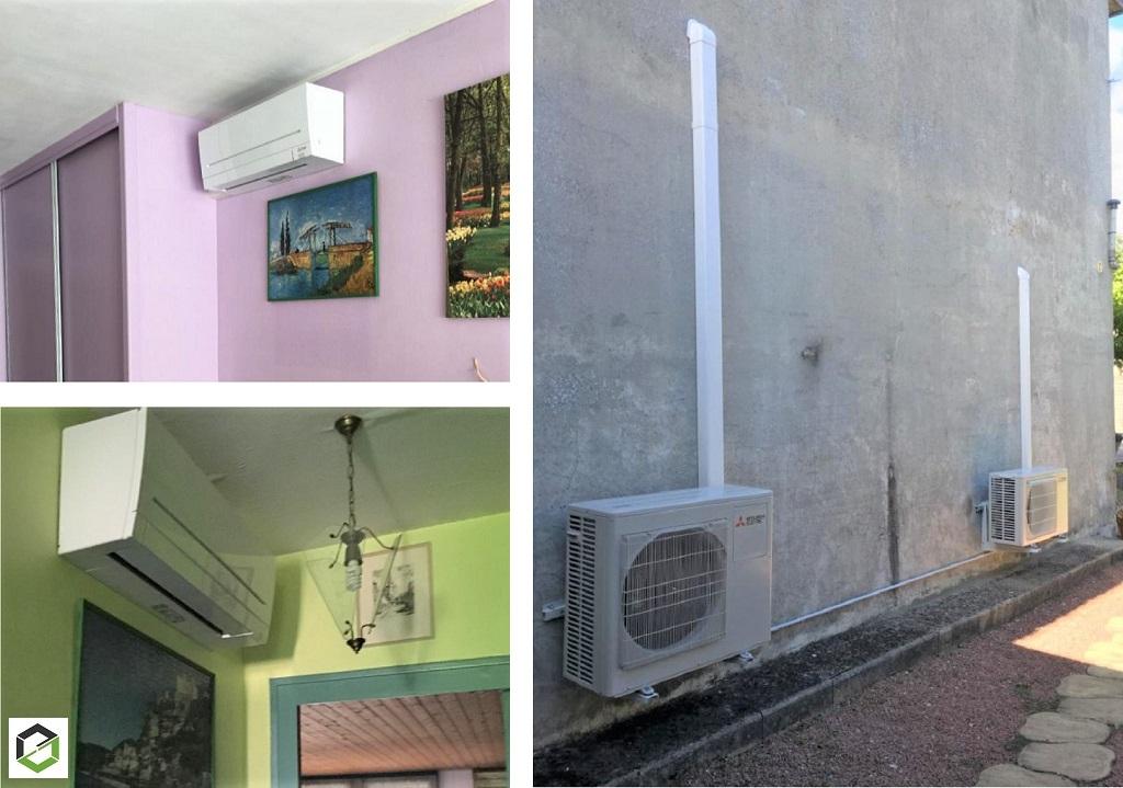 Installateur RGE QualiPAC - Climatisation réversible multi-split MITSUBISHI ELECTRIC-Gironde (33)