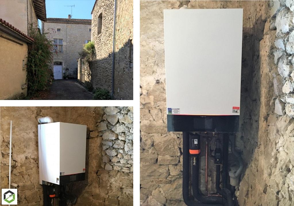 Installation Chaudière gaz condensation VIESSMANN - installateur RGE-Gironde (33)