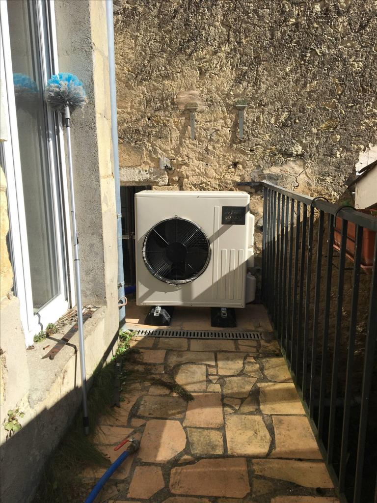Remplacement chaudière gaz, par une pompe à chaleur MITSUBISHI ELECTRIC, installateur RGE QUALIPAC-Gironde (33)