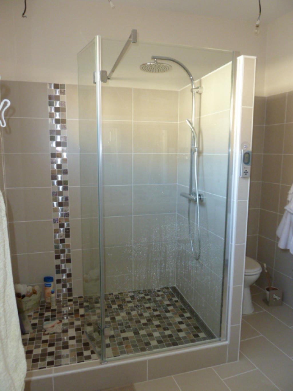 Salle de bain avec rénovation douche à Saint Macaire 33 Gironde