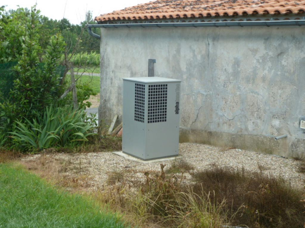 Aérothermie Alpha Innotec Sauveterre de Guyenne - 33 Gironde