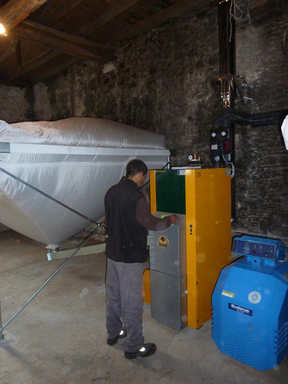 Entretien et dépannage de chaudières à granulés de bois - 33 Gironde