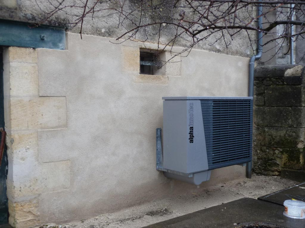 Aérothermie Alpha Innotec à Sauvetrerre de Guyenne - 33 Gironde