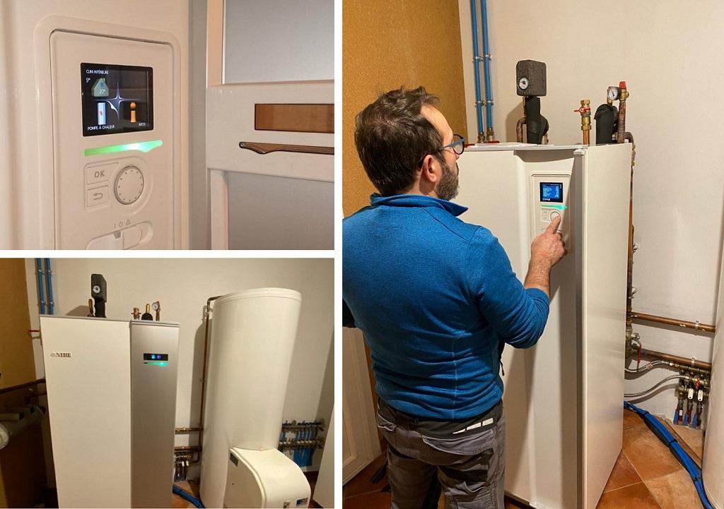 MA PRIME RÉNOV - Remplacement d'une chaudiére fioul non condensation par une pompe à chaleur eau/eau NIBE