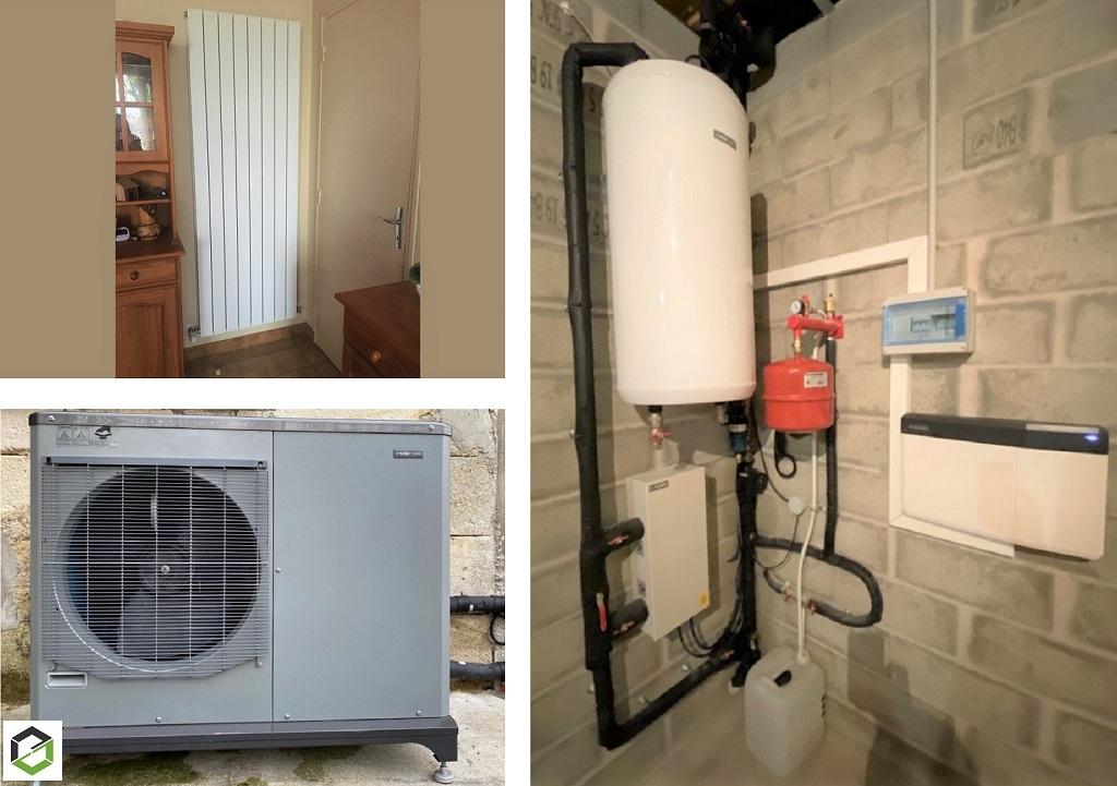 MA PRIME RÉNOV - Remplacement d'une chaudiére fioul non condensation par une pompe à chaleur air/eau NIBE