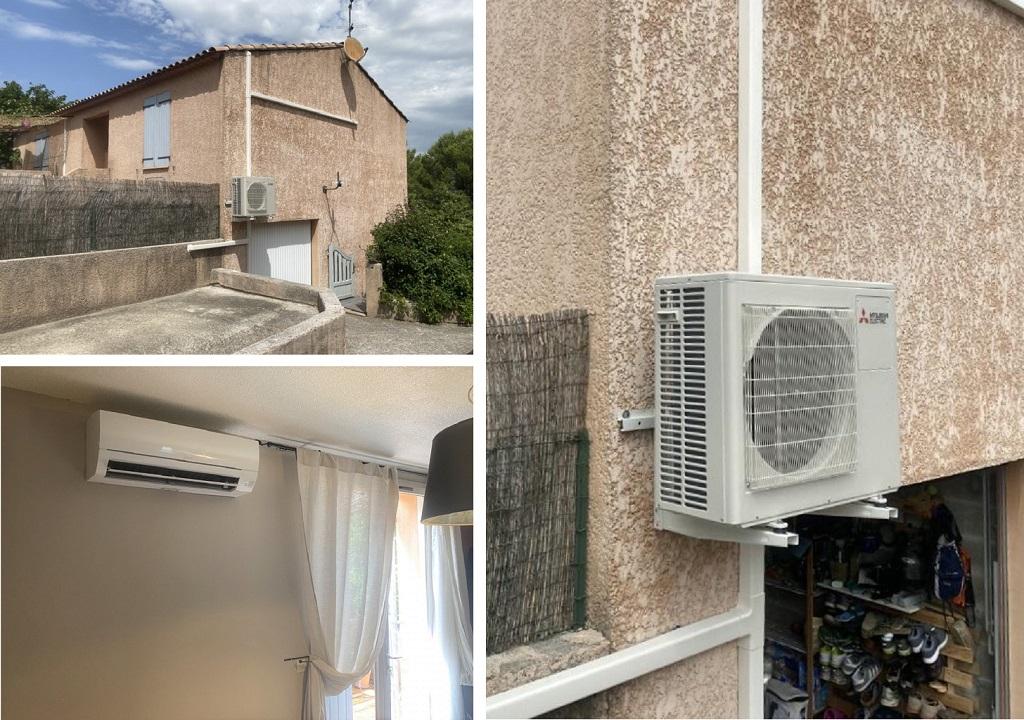 Climatisation d'une villa à Venelles par un artisan spécialisé