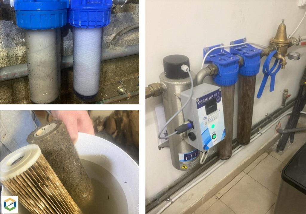 Artisan pour l'entretien d'une filtration par UV
