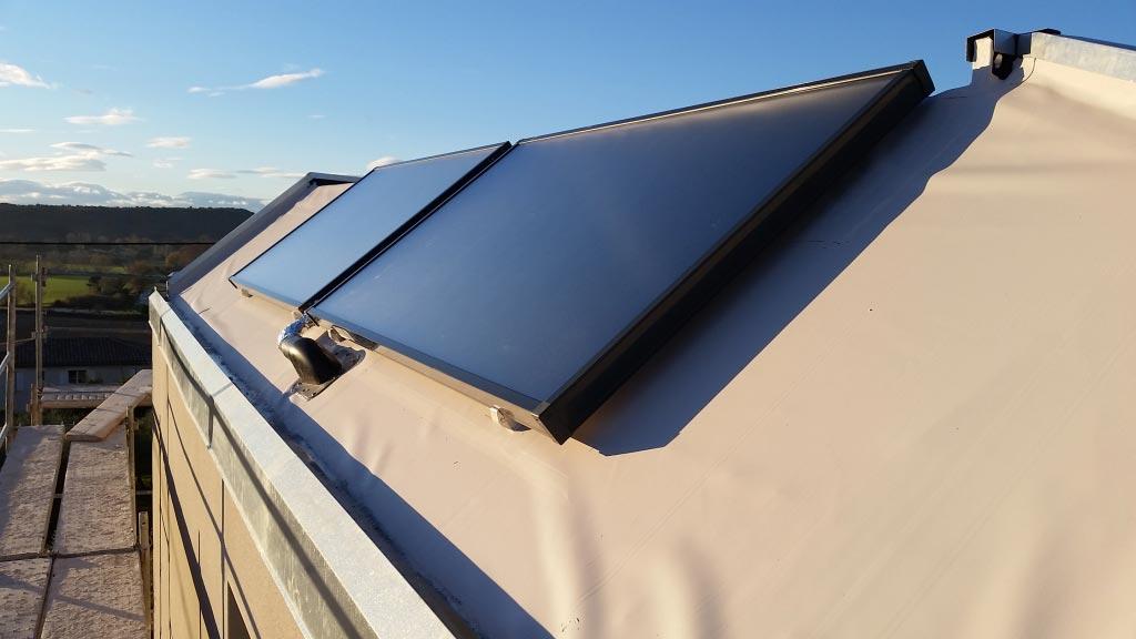 Chauffe eau solaire (CESI) marque Eklor Modèle Eksol One 300 litres Uzés 30 Gard