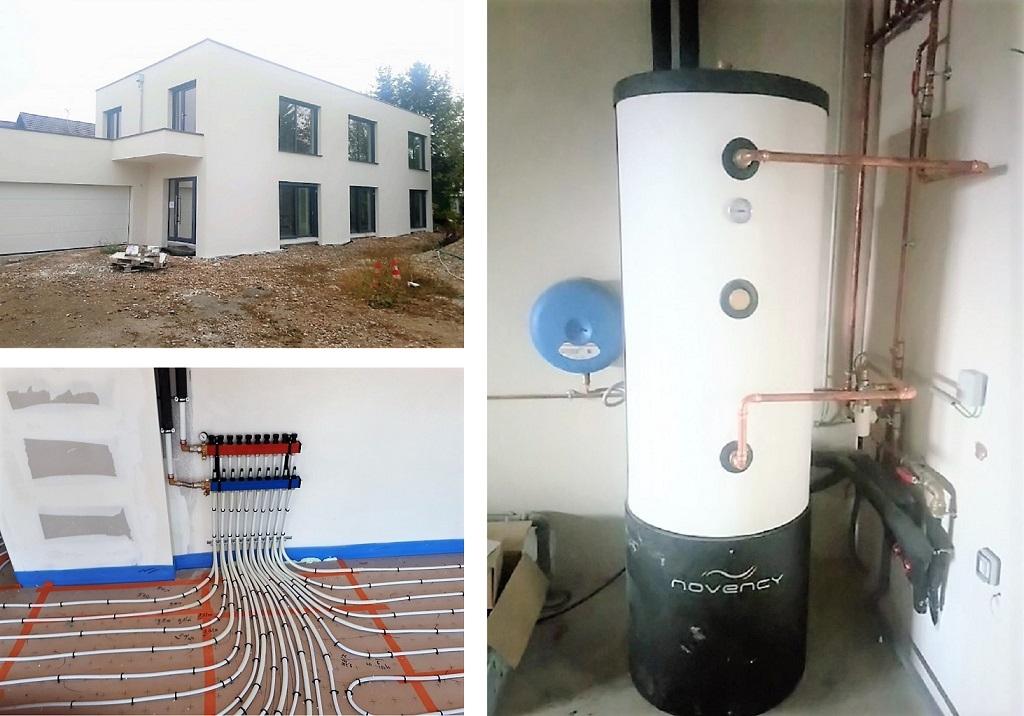 Pompe à chaleur Géothermie verticale Novency Bas Rhin
