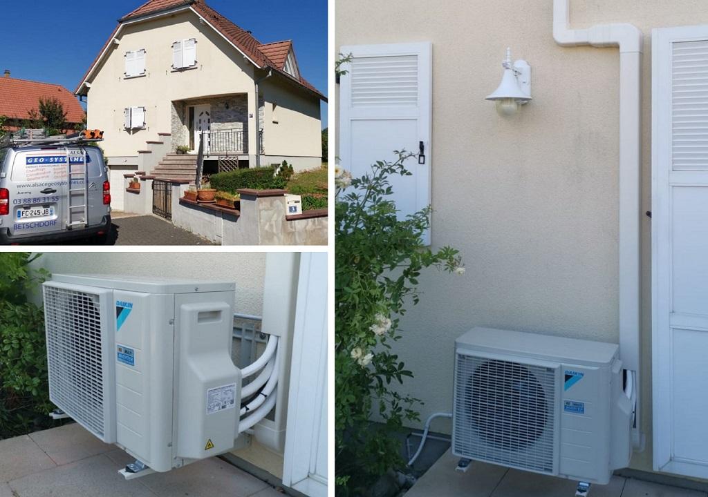 Climatisation Air/Air Daikin Bas Rhin