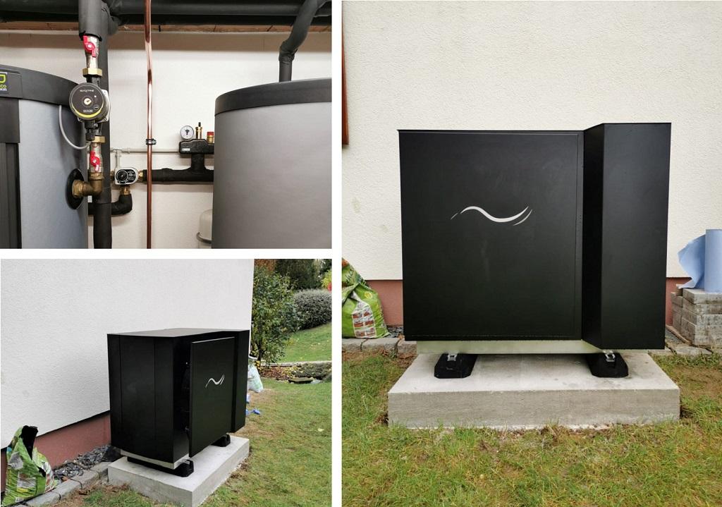 Installation pompe à chaleur Novency nouvelle génération