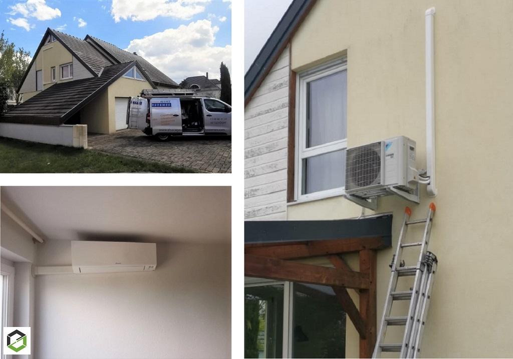 Installation climatisation Air/Air Daikin