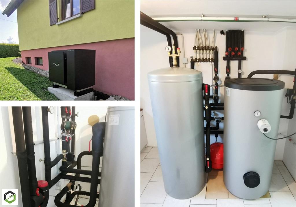 RGE QualiPAC - installation pompe à chaleur Aérothermique Novency N4-A14