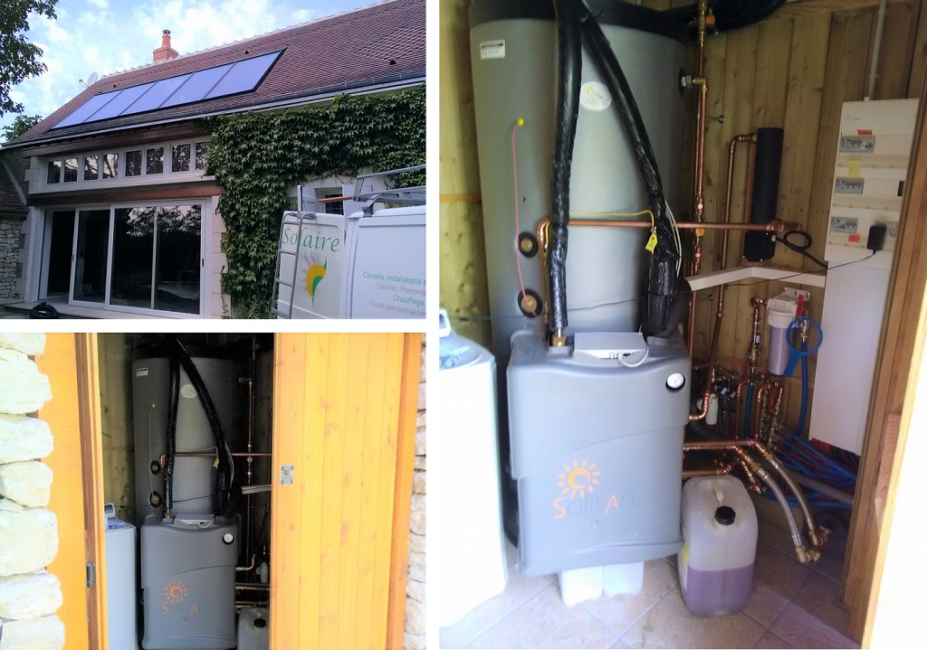 Chauffage solaire SOLISART Tauxigny 37