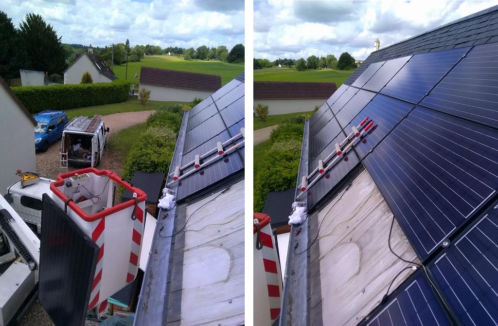 Réparation Photovoltaïque  2.8KWc Genillé 37