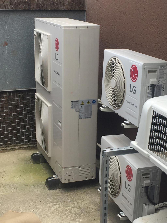 Chauffage et climatisation DRV LG Boulangerie salon de Thé FEUILLETTE - gironde (33)