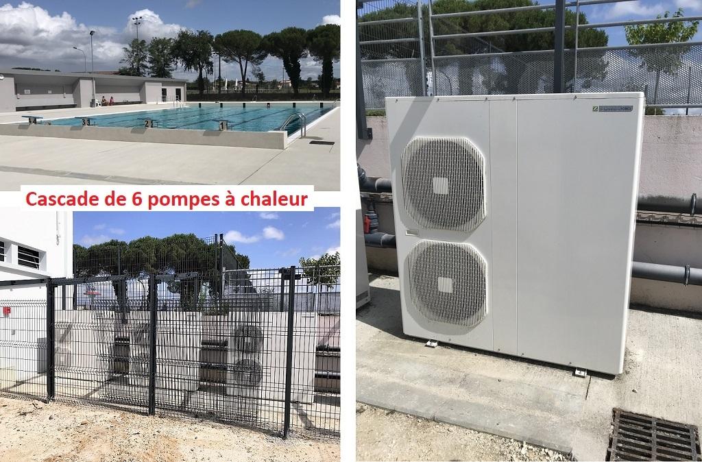 Pompe à chaleur piscine municipal - Gironde (33)