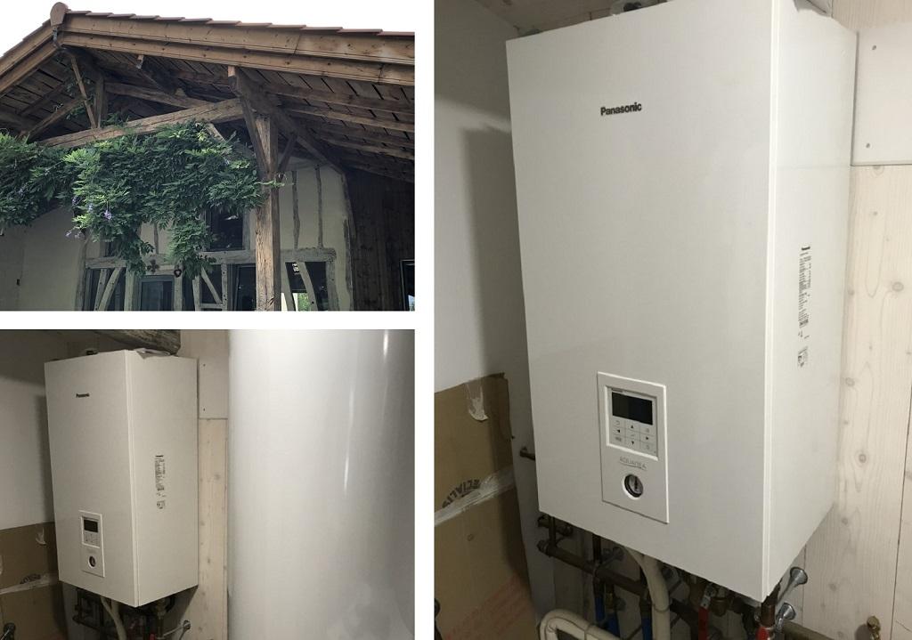 Pompe à chaleur Panasonic - Aubiac (33)