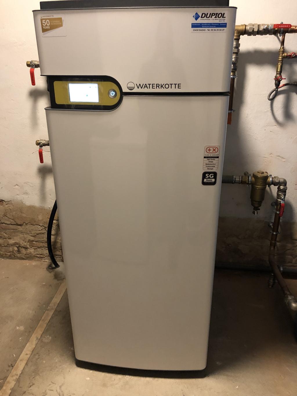 Géothermie sur radiateurs - NOILLAN (33)