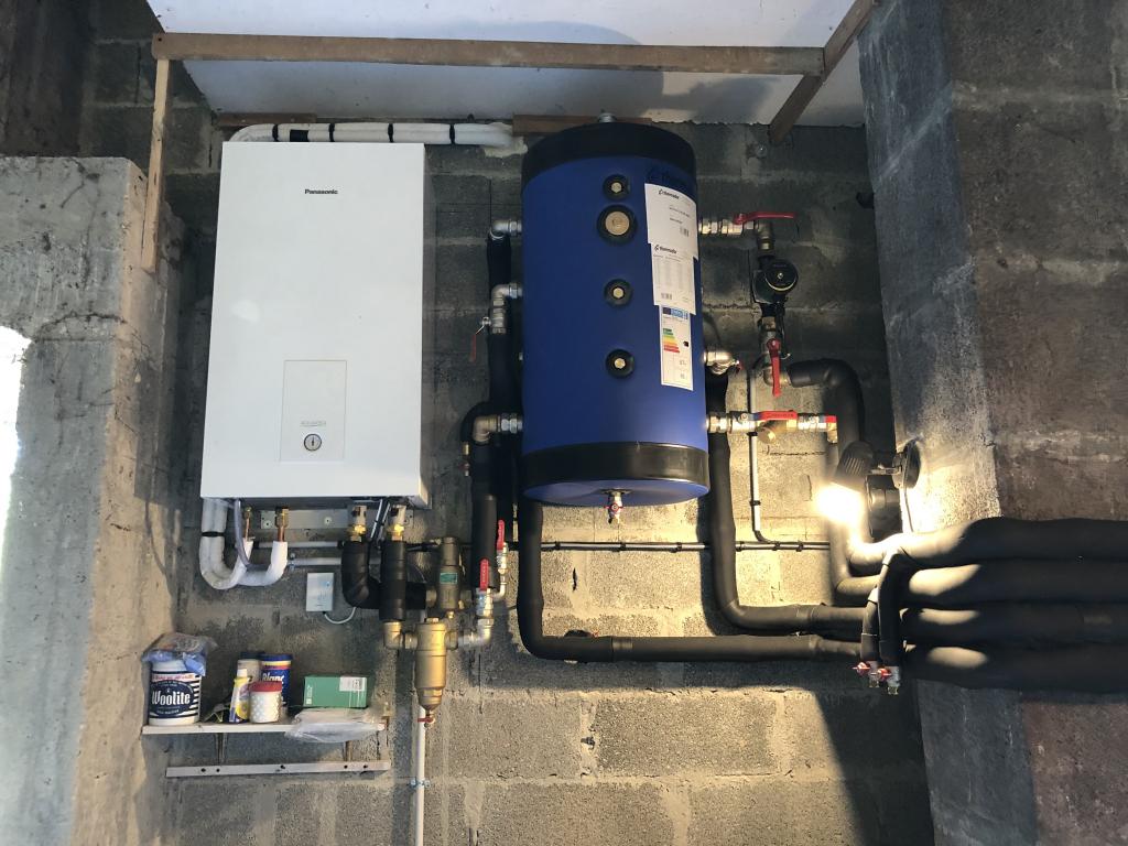 PAC Air/Eau sur circuit de chauffage déjà existant - SAINT SUPLICE DE POMMIERS (33)