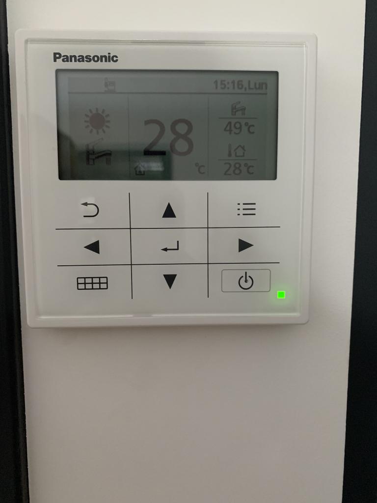 Climatisation et plancher chauffant pour maison neuve - BAZAS (33)