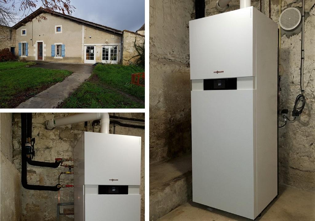 Chaudière gaz condensation Veissmann 33 Gironde