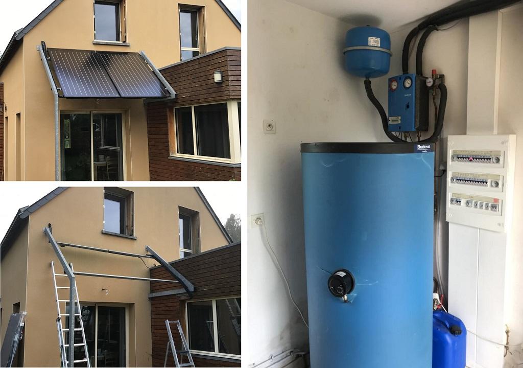 Panneaux solaire thermique Bosch à Langouet 35