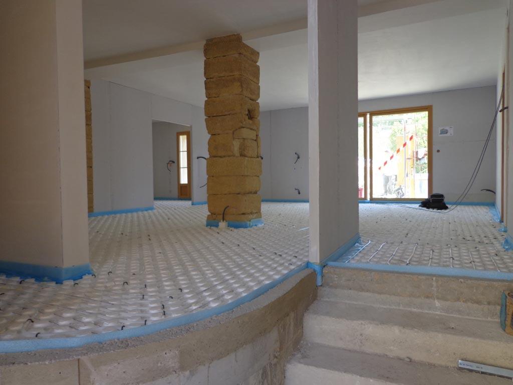 Chauffagiste Qualifié Eco Artisan RGE - Installation plancher chauffant à Roquemaure 30 Gard - 84 Vaucluse