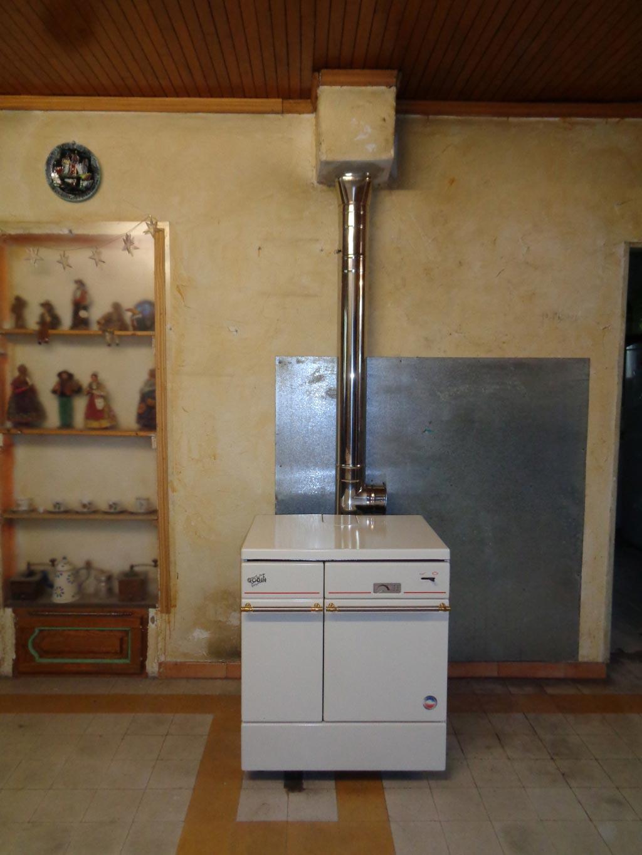 Chauffagiste Qualibois RGE 30 Gard 84 Vaucluse - Installation cuisinière bois Godin à Tavel