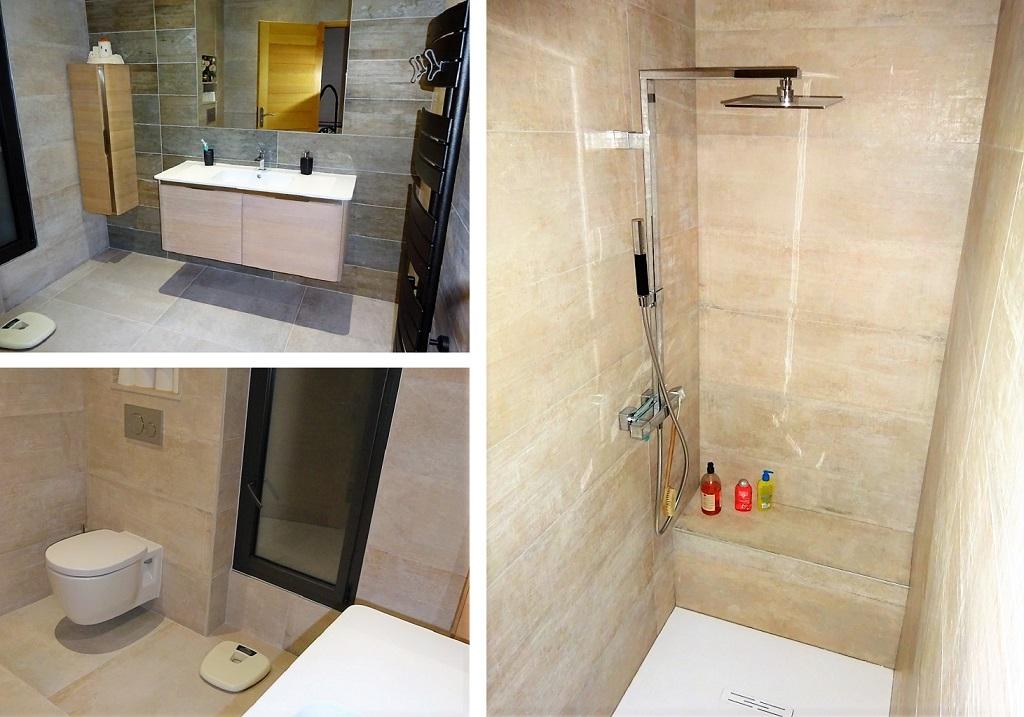 Plombier Maître Artisan - Réalisation conception salle de bains.