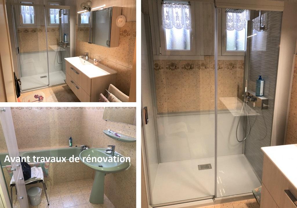 Réfection et aménagement d'une salle de bains pour PMR