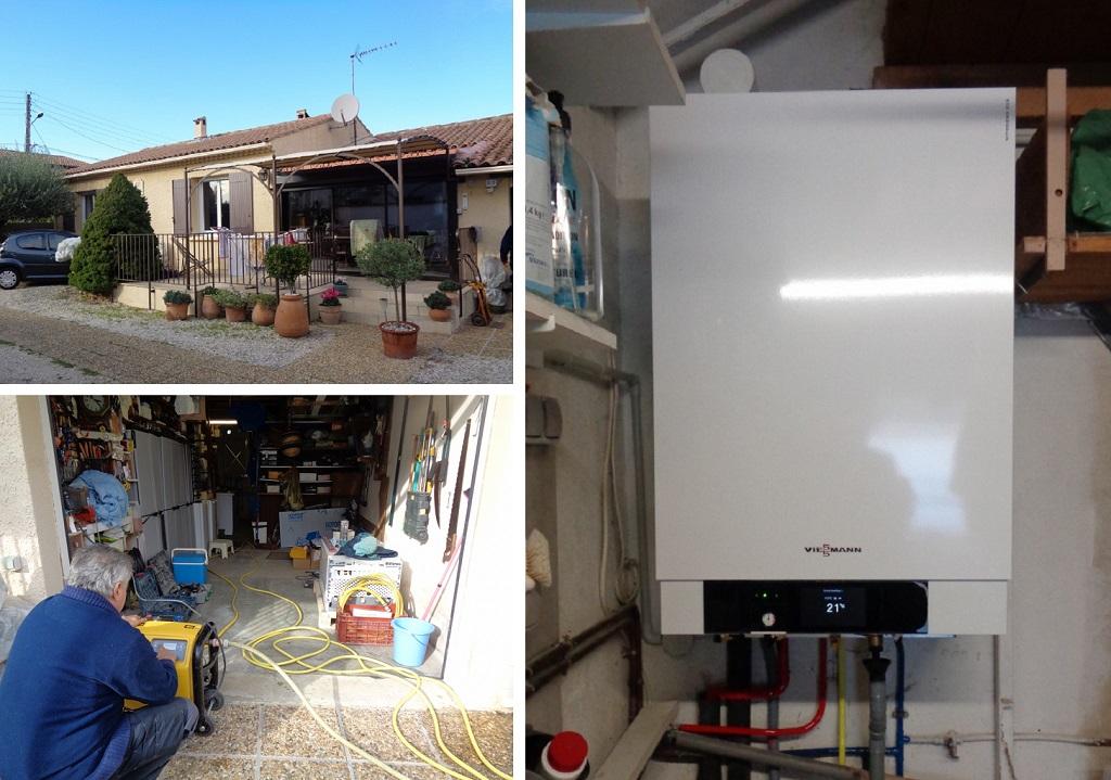 Chaudière à condensation gaz - Installateur Qualigaz RGE  - Installateur Proactif Viessmann 30 GARD 84 VAUCLUSE?