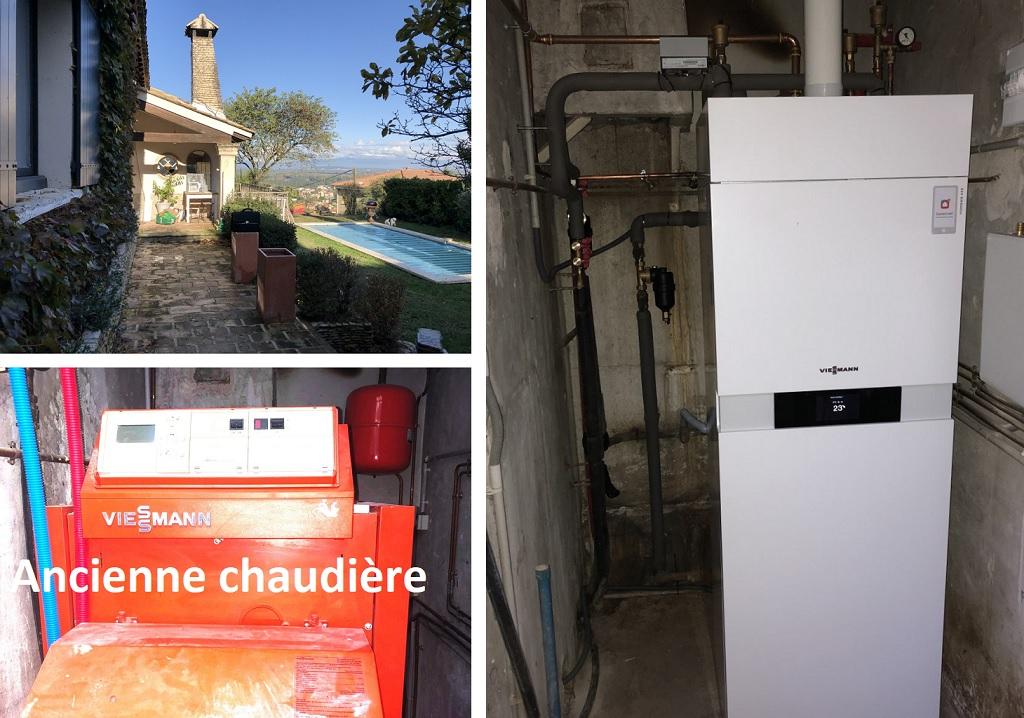 Installateur Proactif Viessmann Gard Vaucluse- Remplacement chaudière fioul par chaudière à condensation gaz