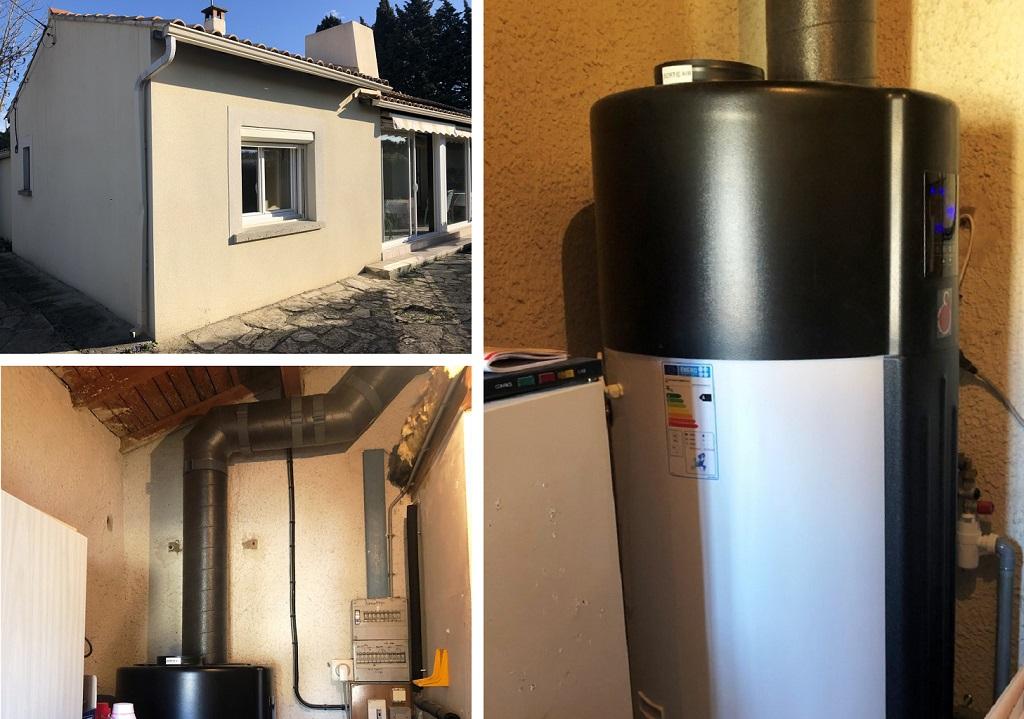 Chauffe-eau thermodynamique sur air avec cuve inox - installateur RGE Gard 30,  Vaucluse 84