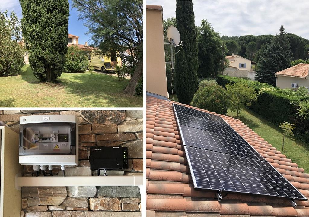 Installateur photovoltaïque en autoconsommation  30 Gard 84 Vaucluse
