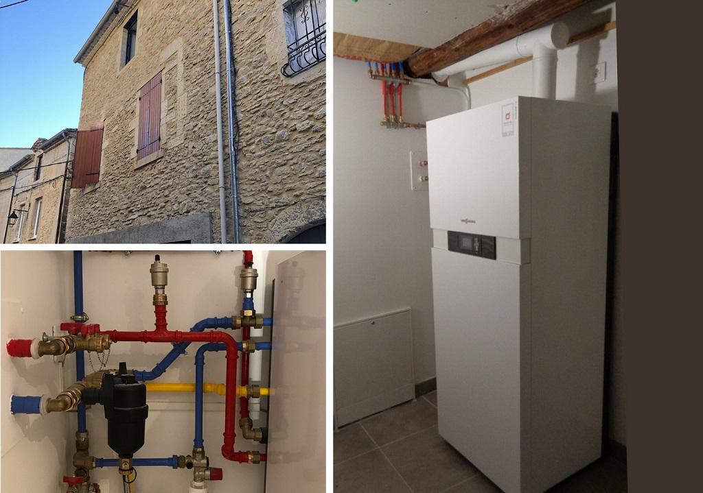 Chauffagiste RGE PG 30 Gard et 84 Vaucluse - Chaudière à condensation gaz Viessmann
