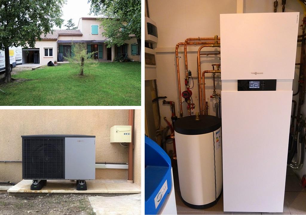 Installateur Qualipac RGE- Remplacement chaudière gaz par pompe à chaleur silencieuse