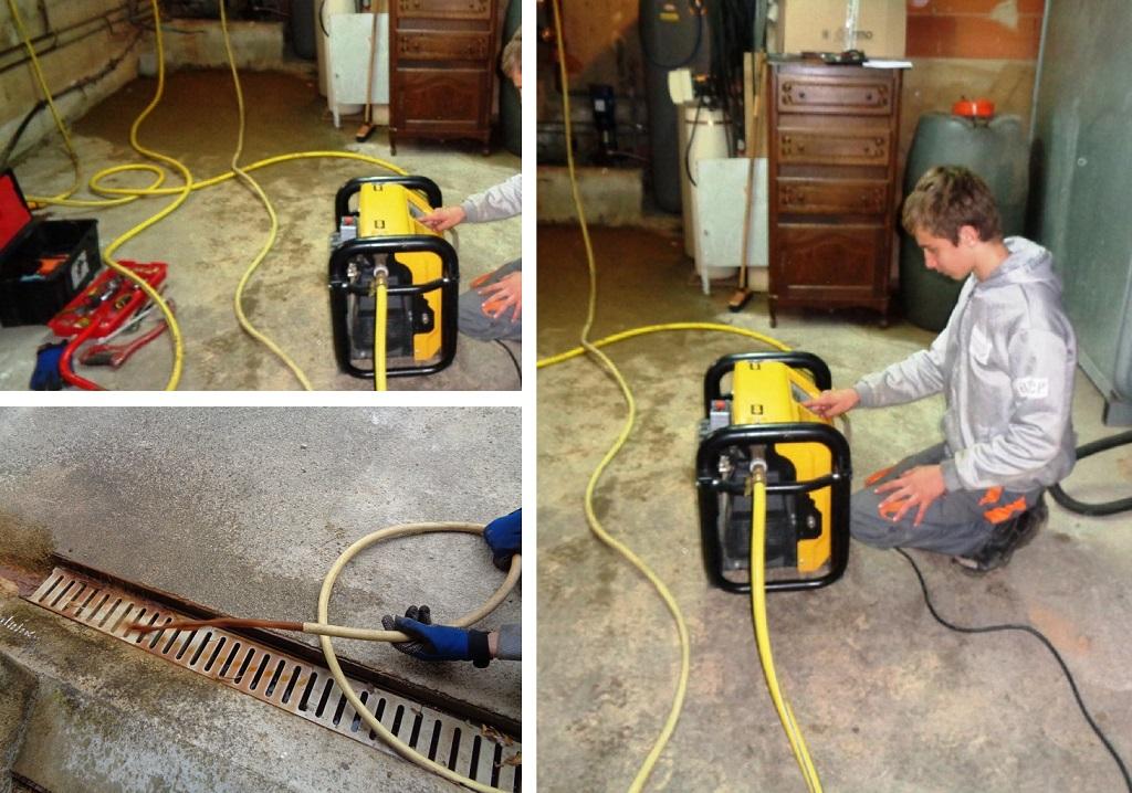 Désembouage plancher chauffant durant le remplacement d'une chaudière fioul par une pompe à chaleur