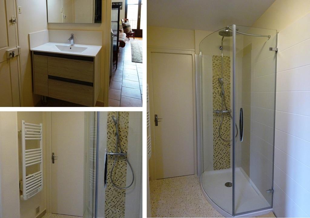 Réfection salle de bains- Remplacement baignoire par douche - Installateur Handibat , Silverbat